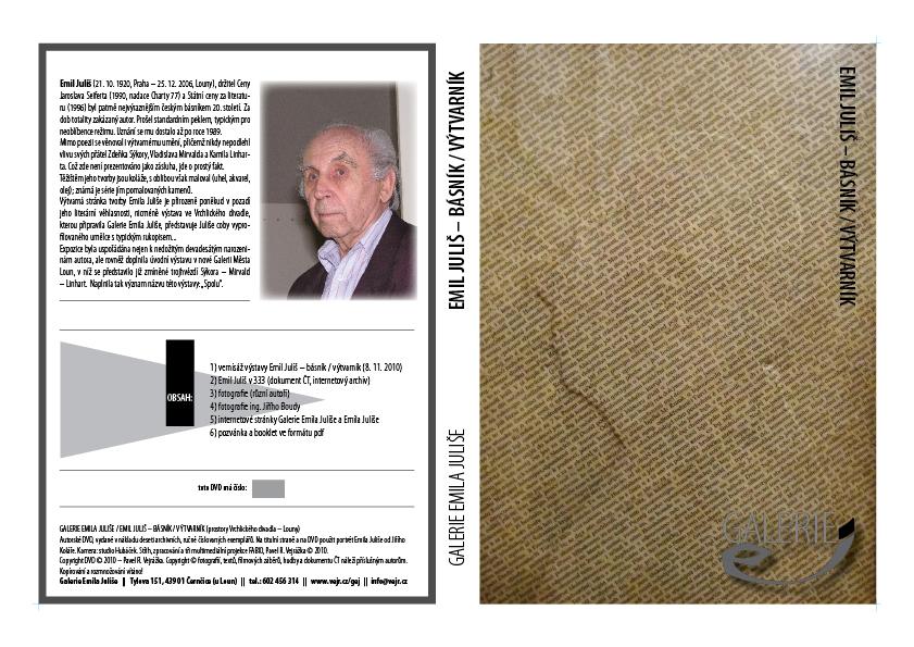 Autorské DVD (vydala G. E. J. v počtu 10 ks)