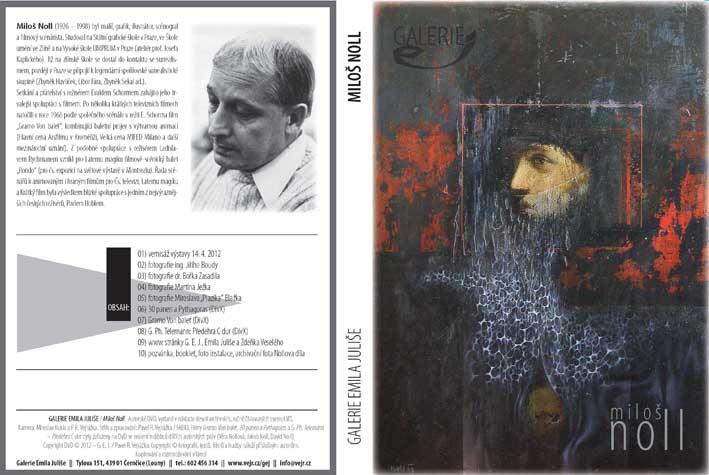 booklet DVD vydaného u příležitosti vernisáže v počtu 10 exemplářů