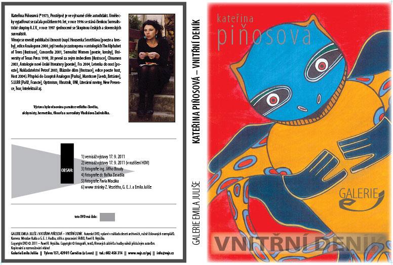 Booklet DVD (vydala G.E.J. v deseti exemplářích)
