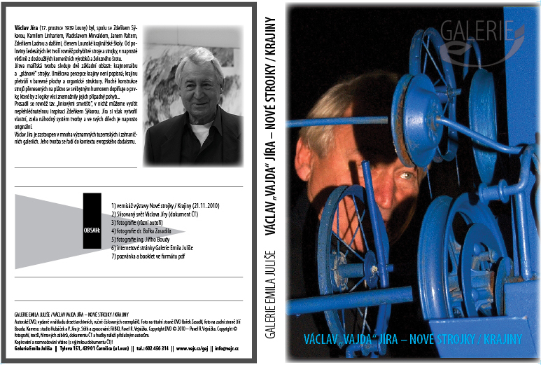 Autorské DVD z vernisáže (vydala G. E. J. v počtu 10 ks)